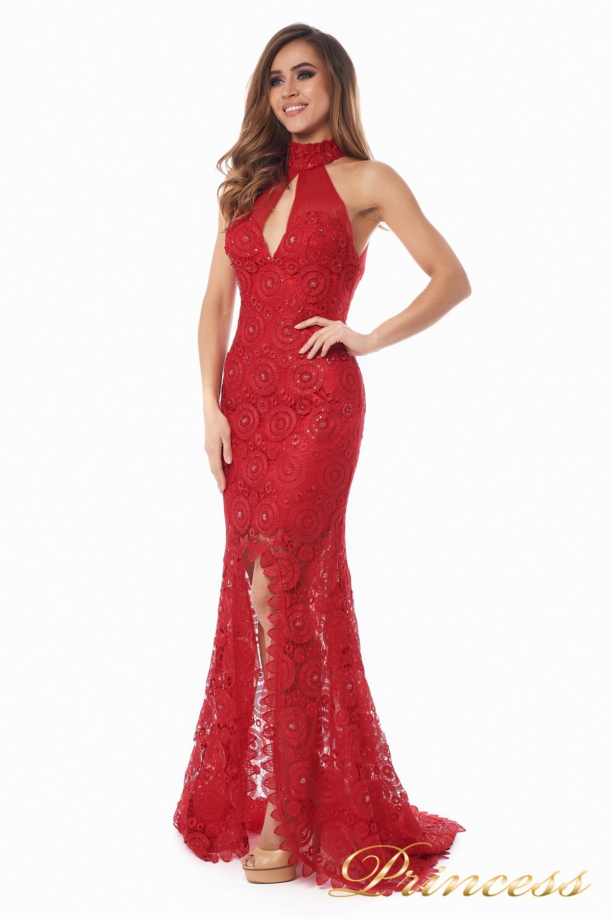 dd20b045ec249f2 Купить вечернее платье 1057 красного цвета по цене 25000 руб. в ...