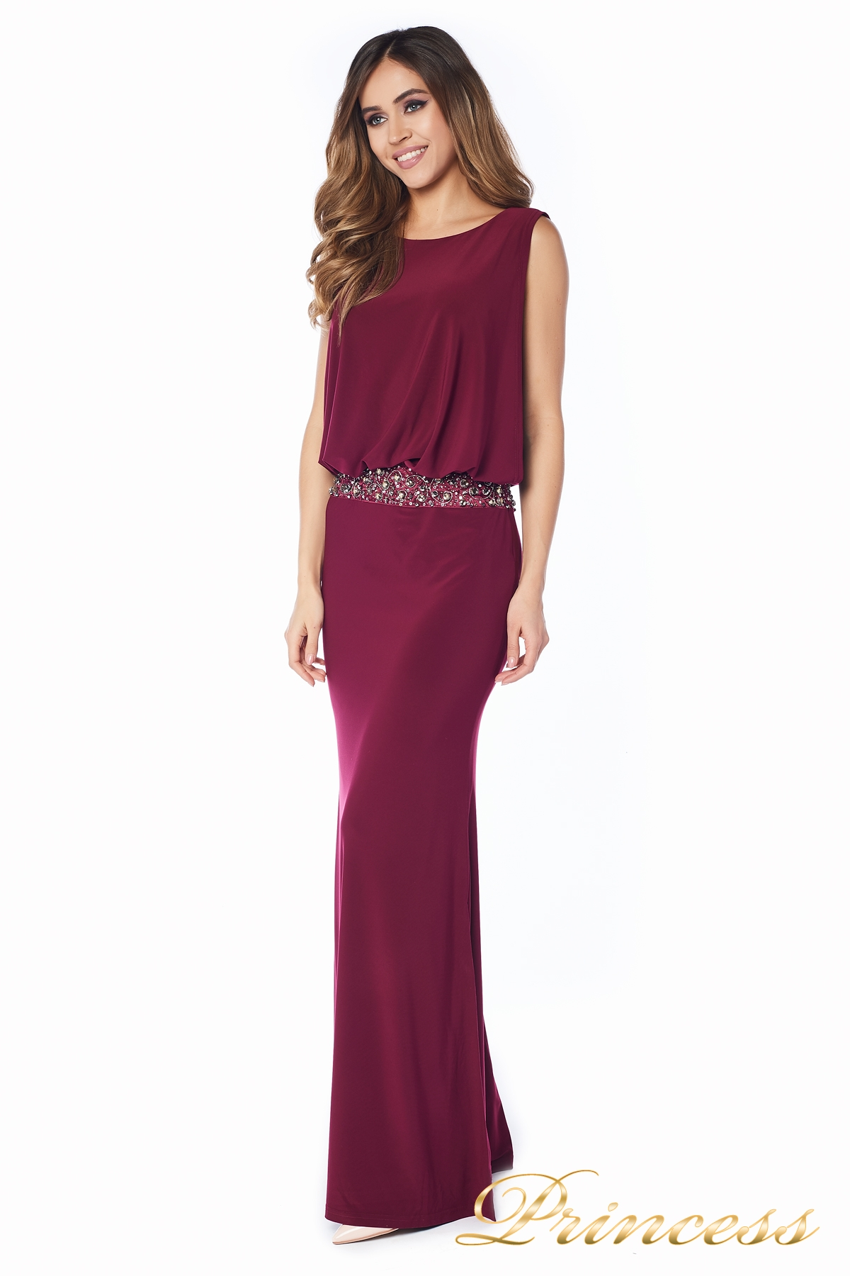 dd1d600a4e1 Купить вечернее платье 1144 marsala красного цвета по цене 39500 руб ...