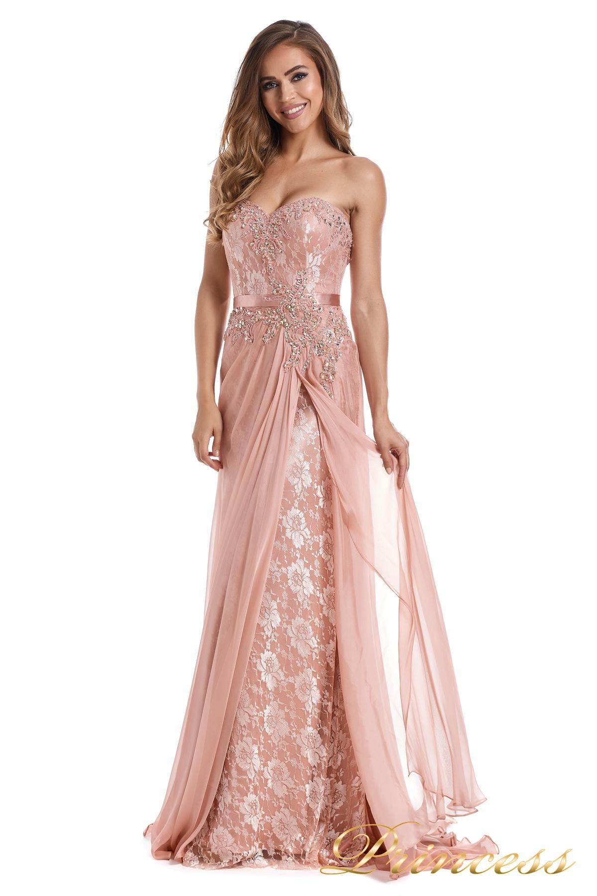 b336c6c753bceb7 Купить вечернее платье 12012 розового цвета по цене 27000 руб. в ...
