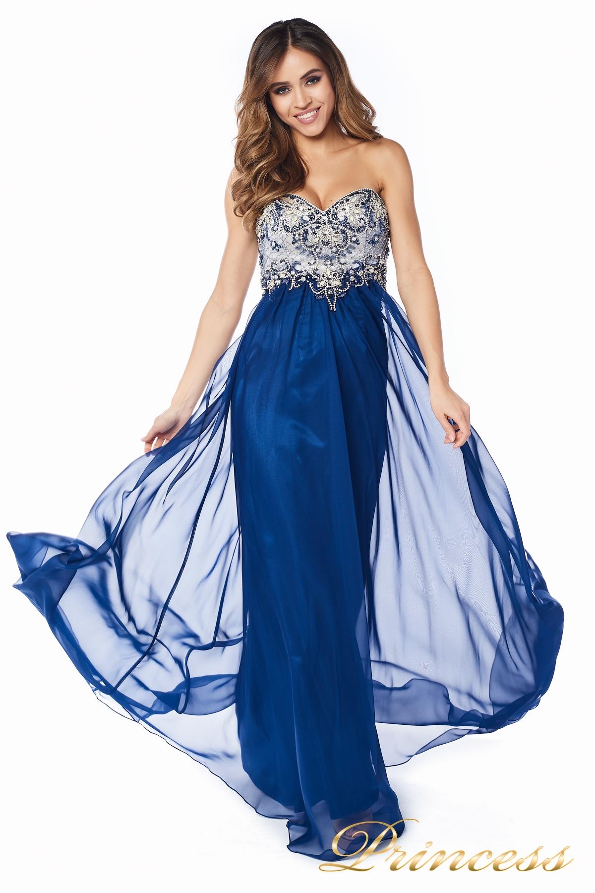 c315b9a0cee Купить вечернее платье 12015-5 цвета электрик по цене 22000 руб. в ...