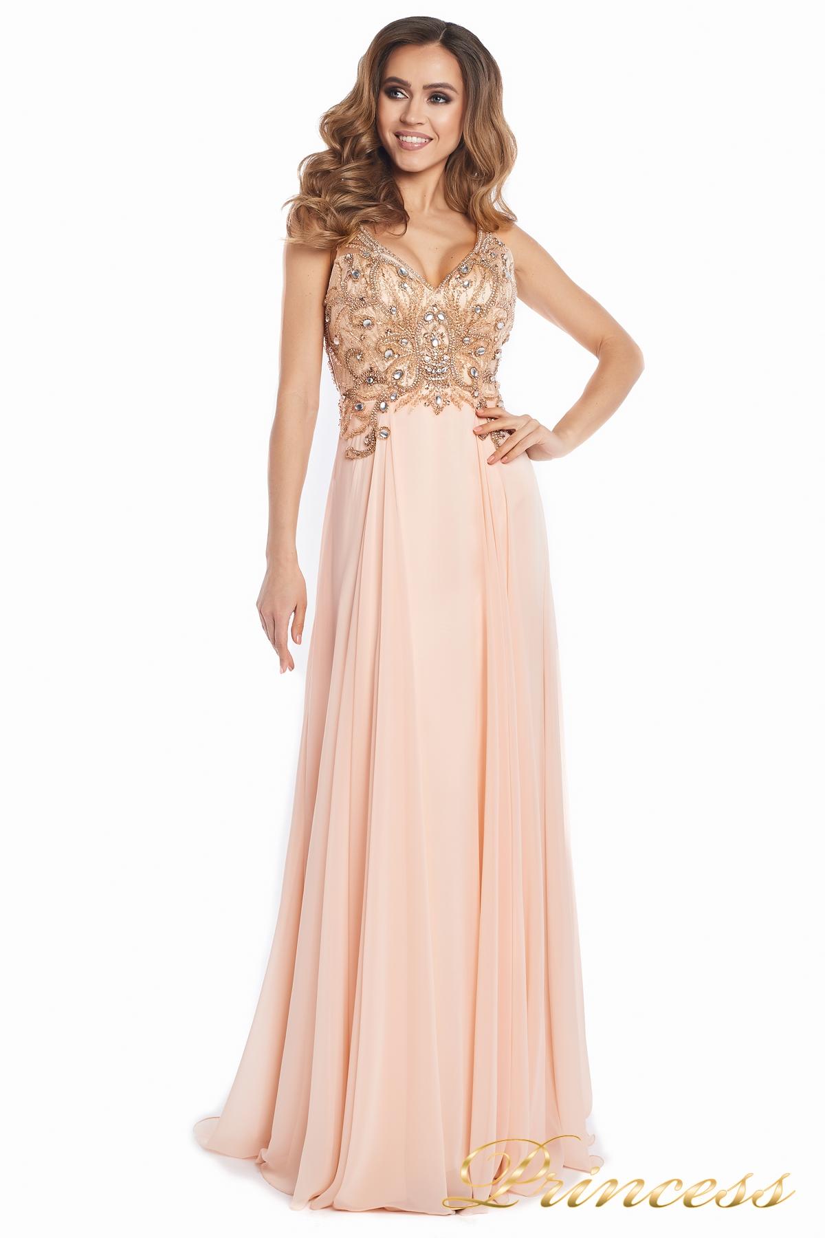 040f989dbf2 Купить вечернее платье 12068 розового цвета по цене 32000 руб. в ...