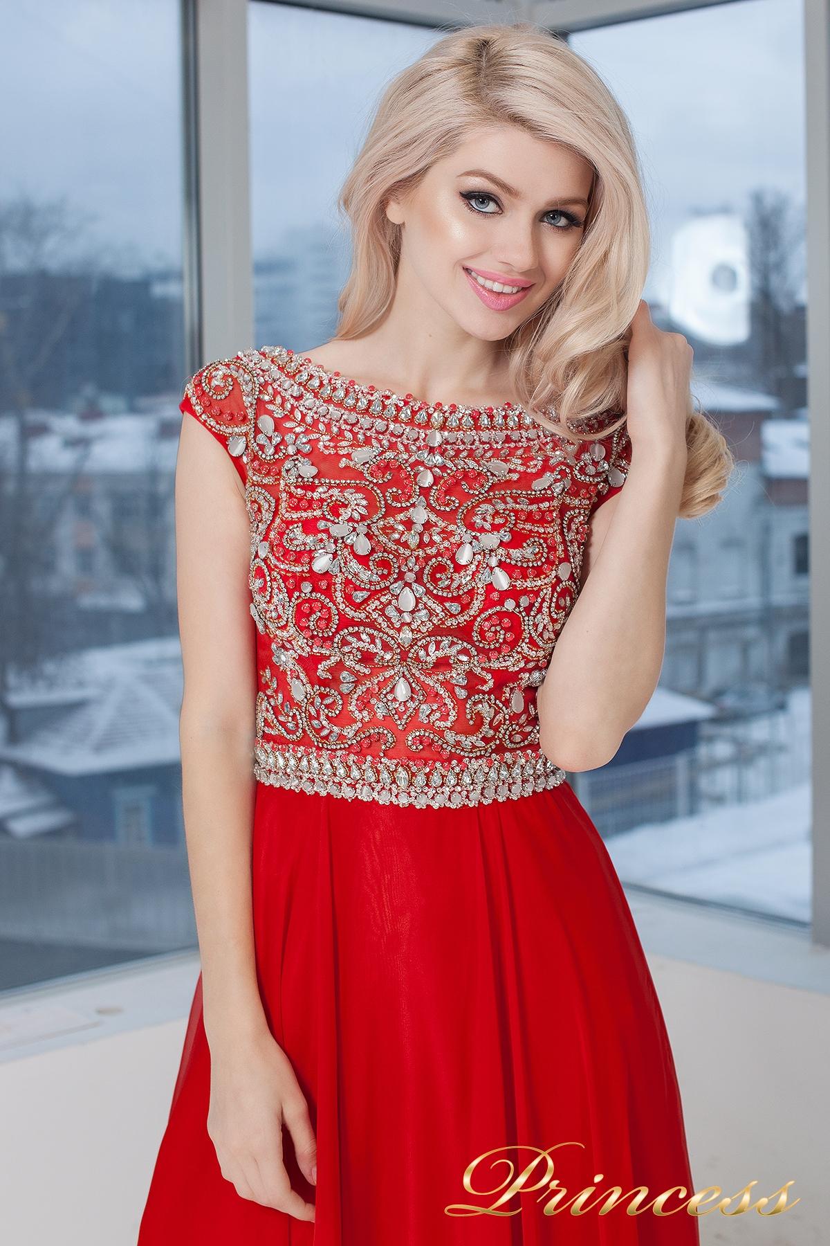 8cc514781ffe79c Купить вечернее платье 130016- royal красного цвета по цене 32500 ...