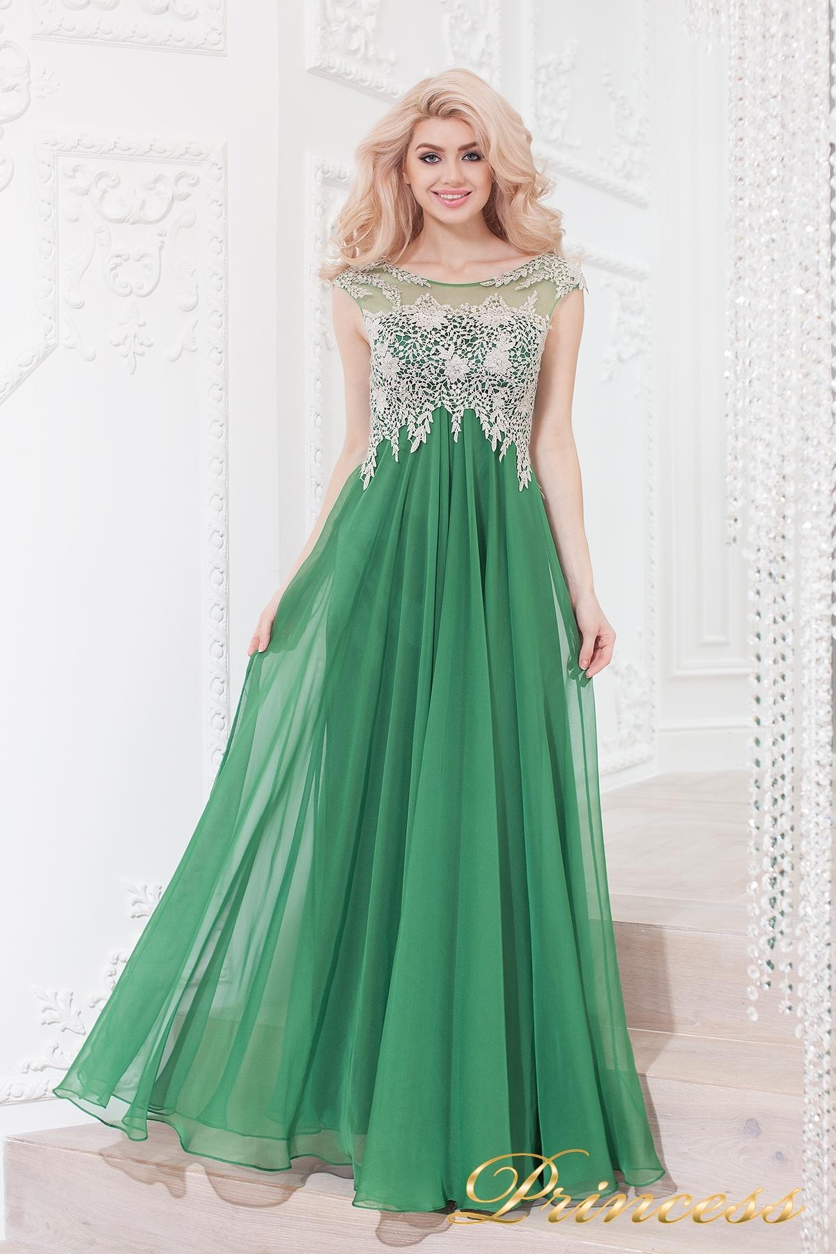 988b22dad5c Купить вечернее платье 4675 green зеленого цвета по цене 31500 руб ...