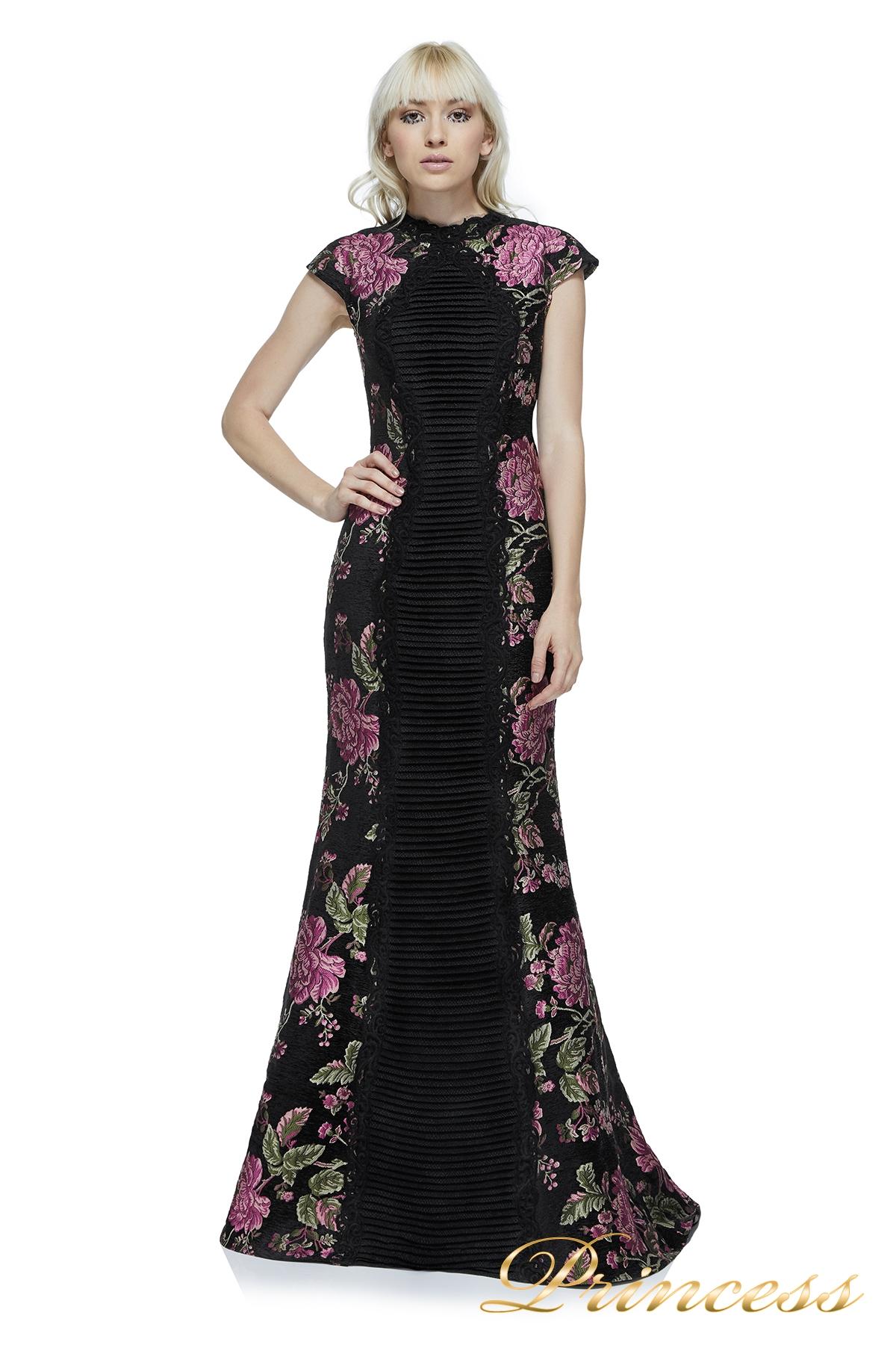 a22fda1f575 Купить вечернее платье tadashi shoji ayr1293l black цветного цвета ...