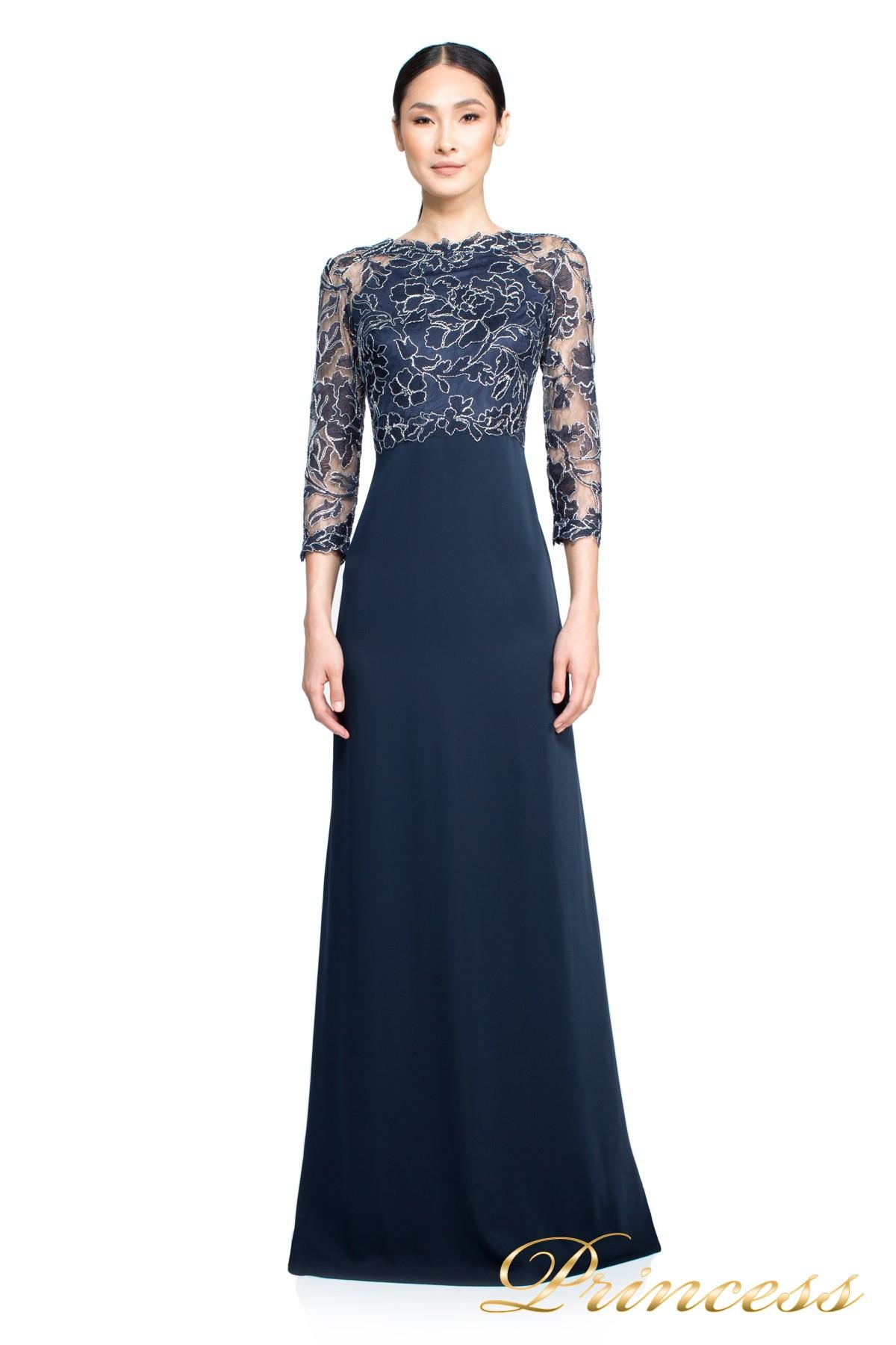 6a93a429347 Купить вечернее платье tadashi shoji art2132lx синего цвета по цене ...