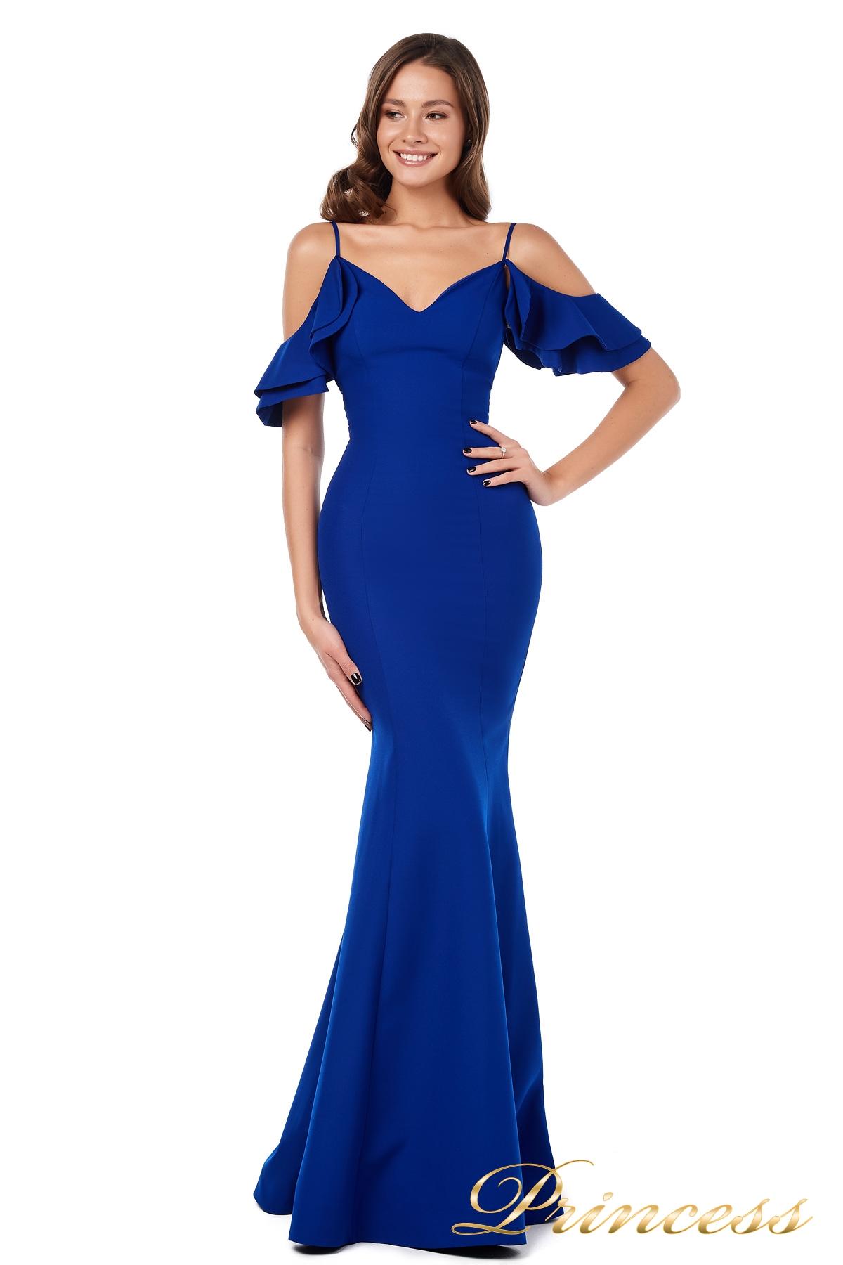 76814741d9d Купить вечернее платье 227586 royal синего цвета по цене 18500 руб ...