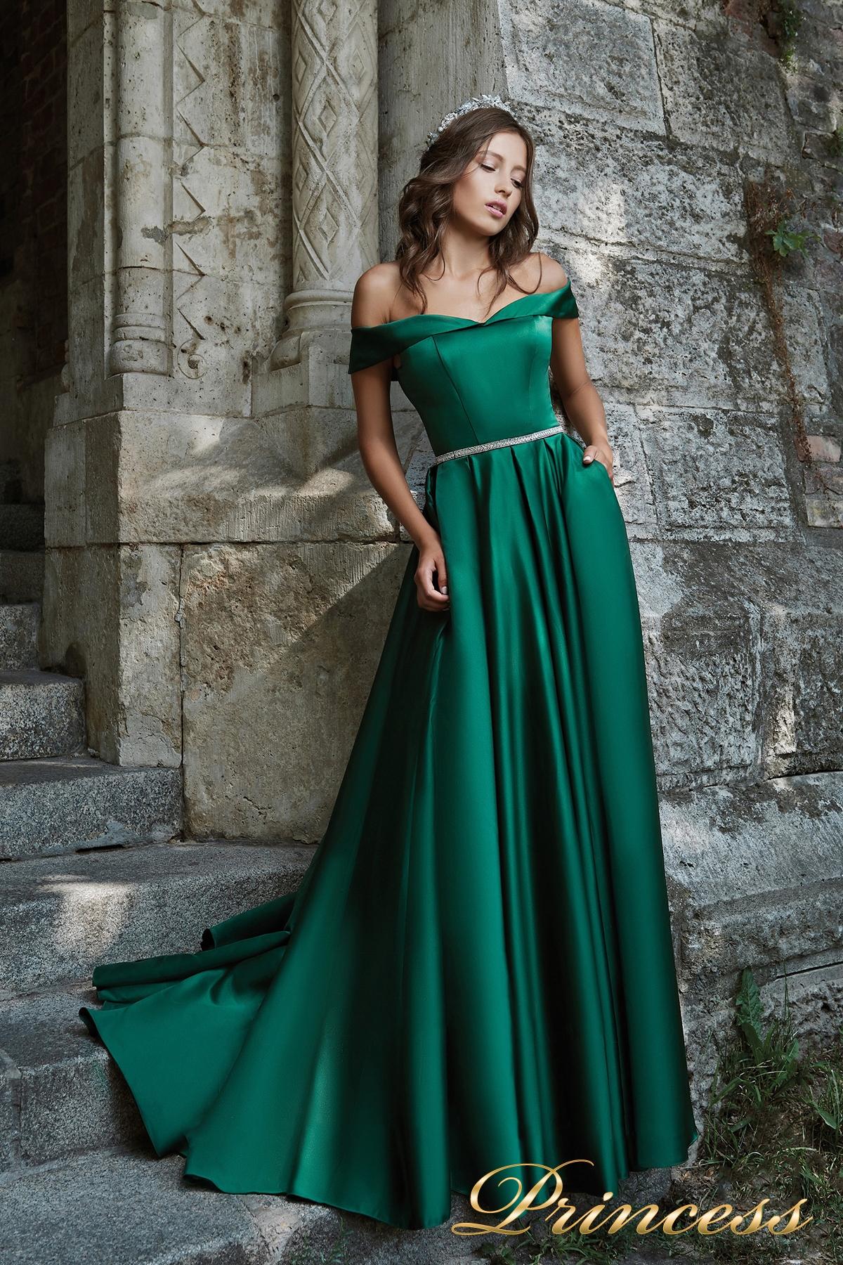 8df2f318aad Купить вечернее платье 29231 g зеленого цвета по цене 16500 руб. в ...