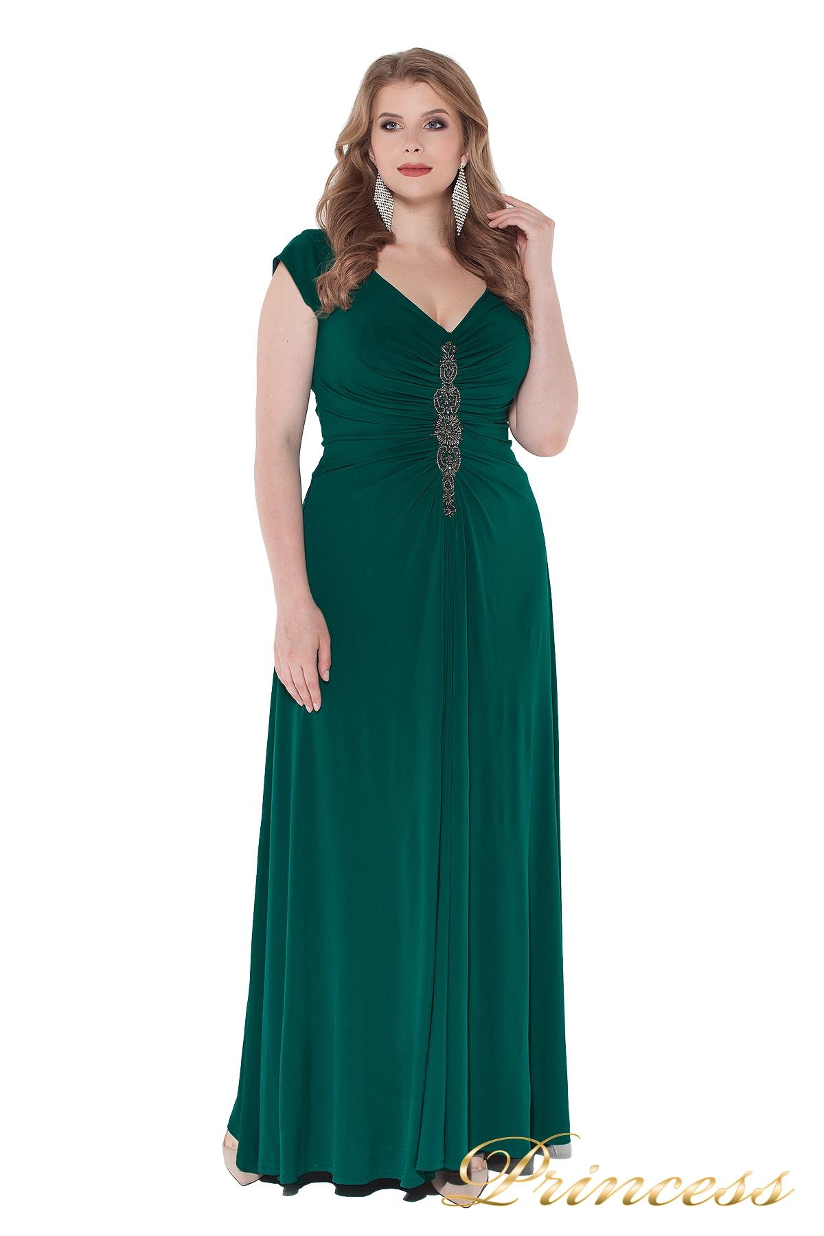 4287c64a453 Купить вечернее платье 826 green зеленого цвета по цене 39500 руб. в ...